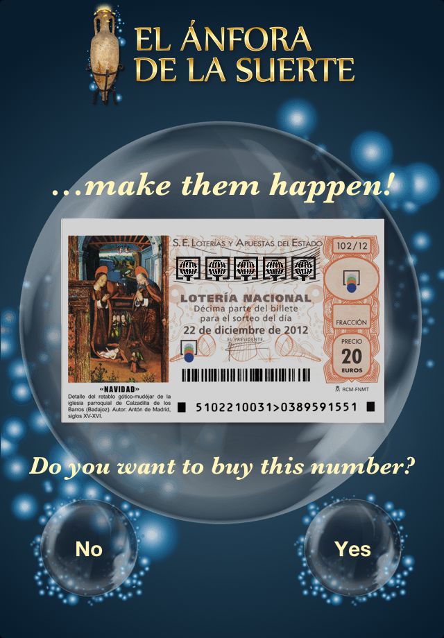 Screenshot Buy Christmas Lottery – The Lucky Amphora